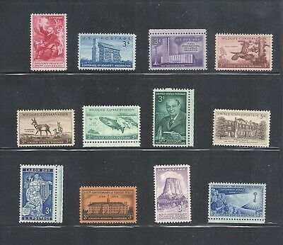 1956 - Commemorative Year Set - US Mint Stamps