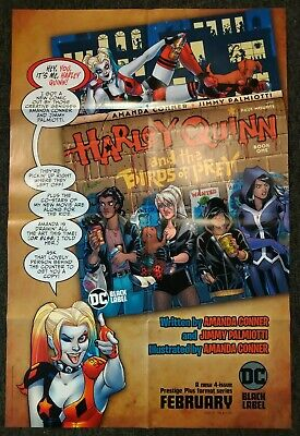 HARLEY QUINN and the BIRDS OF PREY #1 Promo  Poster