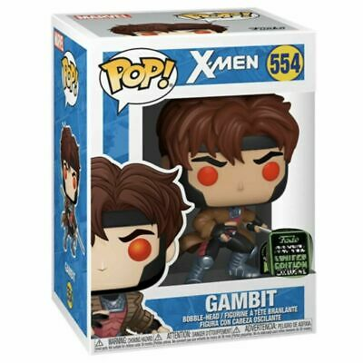 Funko ECCC 2020 GAMBIT Shared Exclusive Preorder W/ PROTECTOR