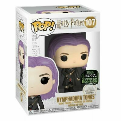 Funko ECCC 2020 HARRY POTTER: TONKS Shared Exclusive Preorder W/ PROTECTOR