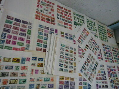Nystamps US extensive town cancel stamp collection album seldom offered !