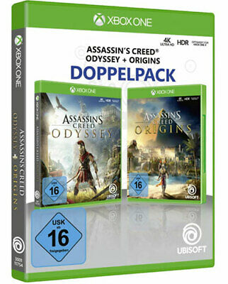 Assassins Creed Double Pack Odyssey + Origins Xb-One Xbox One German Version