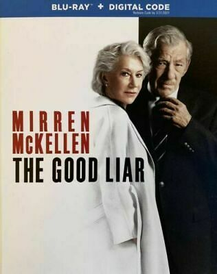 NEW - The Good Liar (Blu Ray + Digital) W/SLIPCOVER