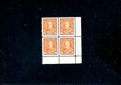 Lot 82206 Mint Nh 222 Lr Corner Block King George V Pictorial Issue Canada