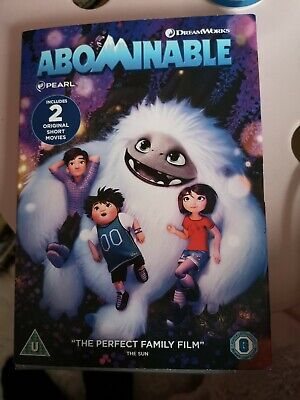 Abominable 2019 [DVD] Sealed. family film Dreamworks with special features.