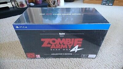 Zombie Army Dead War 4 Collectors Edition For Ps4 - Brand New - Still Sealed.