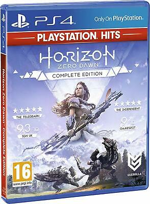 Horizon Zero Dawn Complete Edition Sony Playstation PS4 Pro Enhanced Video Game