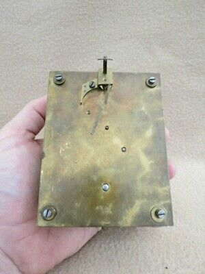 Antique Winterhalder & Hofmeier 8 Day Clock Movement For Spares Or Repair