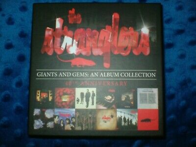 THE STRANGLERS  -- GIANTS AND GEMS: AN ALBUM COLLECTION 4Oth ANNIVERSAY [11 CD]