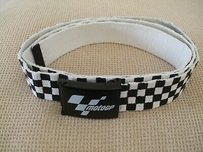 Motogp Chequered Web Belt Moto Gp Official Product