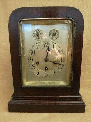 Antique Junghans Westminster Chime Bracket Clock