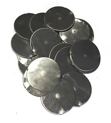"""20pc 304 Stainless Steel 1 5/8"""" Disk 16ga (.060) Round Sheet Metal Plate Welding"""