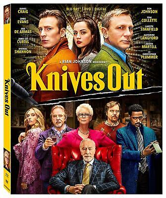 Knives Out (Blu-ray Disc, 2020) - Please Read
