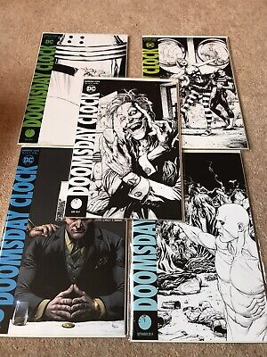 Doomsday Clock Variant Covers 2 Final Print, 5,6,7,9 2nd Print