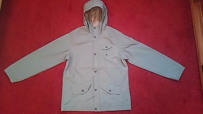BOYS DEBENHAMS LANDS END GREY RAIN JACKET BRAND NEW LARGE AGE 11/12 (158-164cm)