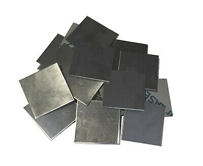"""10pc 304 Stainless Steel 2"""" x 2"""" 16ga (.060) Square Metal Sheet Plate Welding"""