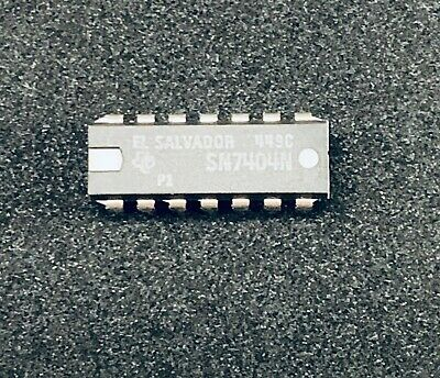 7404PC 10 pieces HEX INVERTER 7404 IC SN7404N