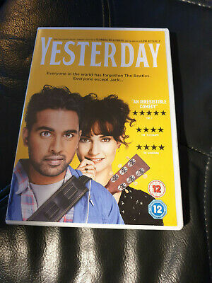 Yesterday (DVD) [2019] Himesh Patel (Actor), Lily James (Actor), Danny Boyle (D