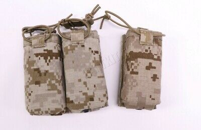 Eagle Industries AOR1 Single & Double 4.6 Mag Pouch Kydex MOLLE/ BELT 5A1 NSW EI