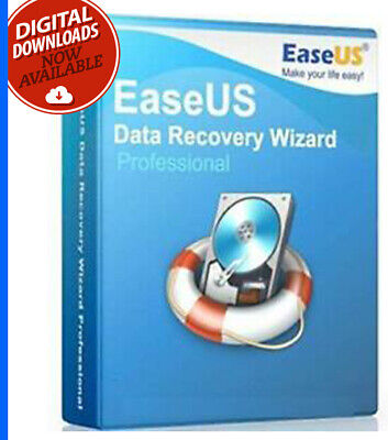 Recovery Software EaseUS 2019 – Recover Lost All Windows Files  -Lifetime