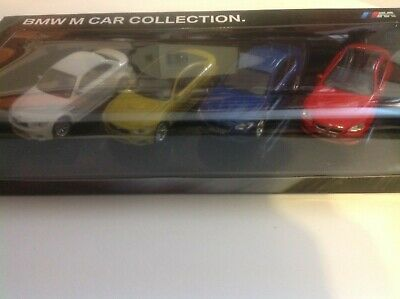 official BMW M Car Collection 1/64-scale dealership models unused adult diecast