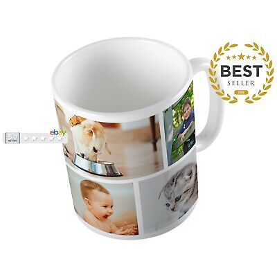 Personalised Mug Cup ANY Text Or Pictures Ideal Birthday Xmas OR Company Logo
