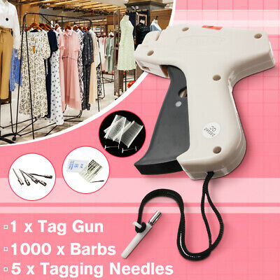 "5000 12mm 0.5/"" Standard Clothing Garment Price Label Tagging Tag Gun Barbs Pins"
