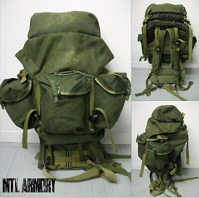 Canadian Forces 82 Pattern Rucksack Backpack Metal Frame Canada Army