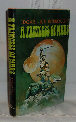 "1980 Full Color Plate /""Sketch From A Princess of Mars/"" Frank Frazetta Fantastic"