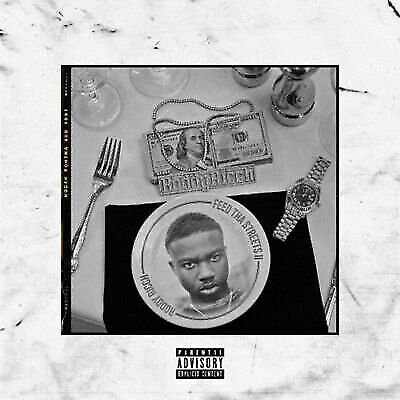 Feed Tha Streets 2 - Roddy Ricch (Mixtape) Official PROMO CD Fast Ship!
