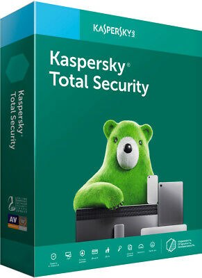 Kaspersky Total Security 1/2 Years 1/3 PC Global Key 2020