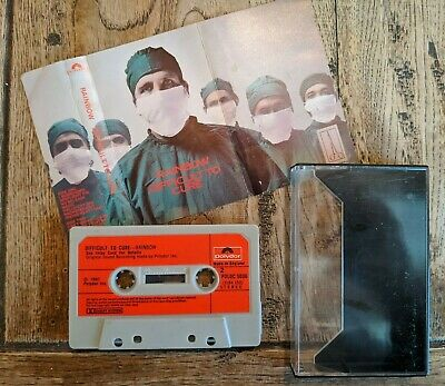 Rainbow - Difficult To Cure Cassette Tape Album Polydor Red Paper Labels Tested