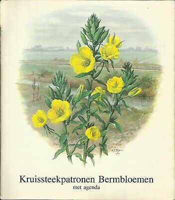 Permin Calender 1984 Wildflowers and plants - Bermbloemen cross stitch patterns