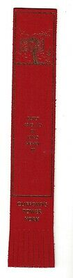 Cliffords Tower York. Red Leather English Bookmark.