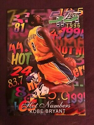 Kobe Bryant Hot Numbers Limited Edition Rare Card
