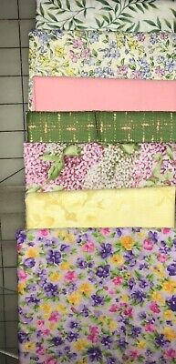 Big Block QUILT KIT Fabrics -with  Hoffman, Northcott, & other Florals