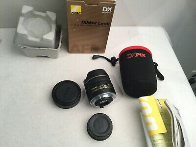 Nikon NIKKOR 10.5mm Fisheye f/2.8 DX AF ED Lens 9++ w/case
