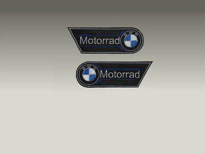 PATCH TOPPE BMW  COPPIA SPALLE  RICAMATE TERMOADESIVE embroidered