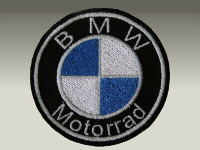 PATCH TOPPE N° 3 BMW  MOTORRAD LOGO RICAMATE TERMOADESIVE embroidered