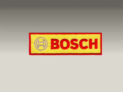 PATCH TOPPE N° 3 BOSH LOGO RICAMATE TERMOADESIVE embroidered