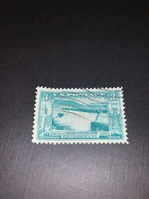 US 1009 Grand Coulee Dam 3c single (1 stamp) MNH 1952