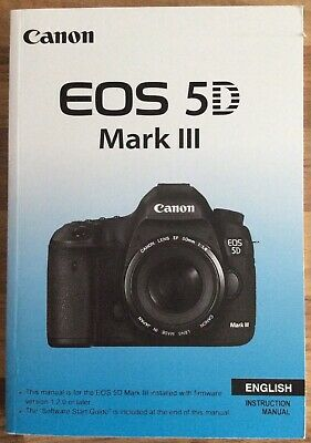 Canon EOS 5D Mark III Manual - Printed & Professionally Bound Size A5 - NEW