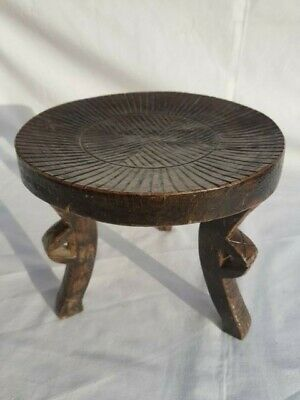 3 Legged Arts & Crafts Milking Stool 18.5 Cm Diameter, 16 Cm High