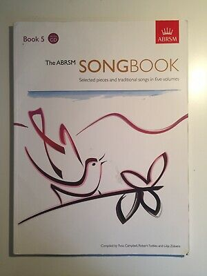 The ABRSM Songbook 1 Vocal Music Book//2CDs Selected Pieces /& Traditional Songs