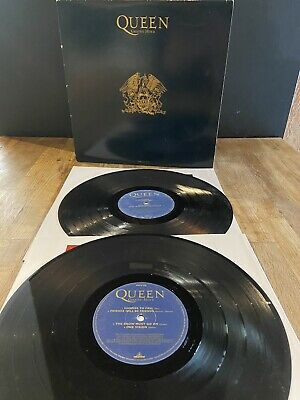 Queen Greatest Hits II Original Limited Edition Gold Gatefold PMTV Vinyl 2 X LP