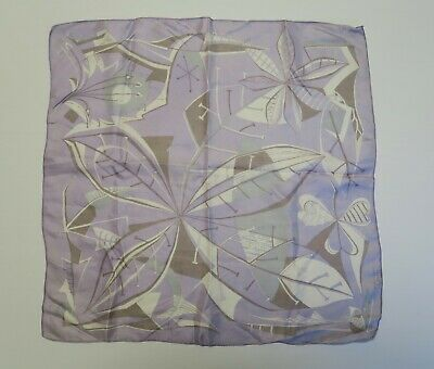 Silk handkerchief by Liberty. Approx 41 X 41 cm.
