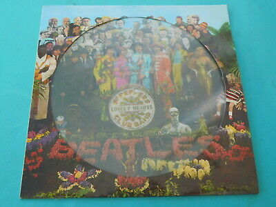 The BEATLES Sgt. Peppers Lonely Hearts Club Band 1967 PHO 7027 PICTURE DISC VG++