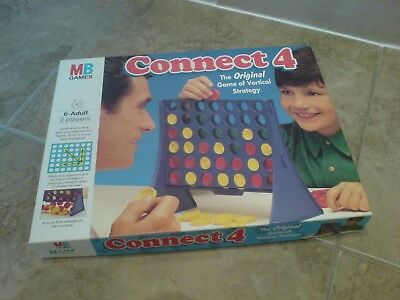 Connect 4 Vintage Board Game MB Games 1994!!!