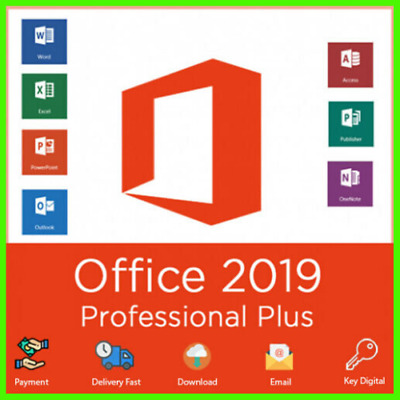 Microsoft Office 2019 Professional Plus License Key Lifetime ✔️fast  Delivery
