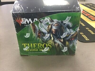 Mtg Theros Beyond Death Collector Sealed Booster  Box